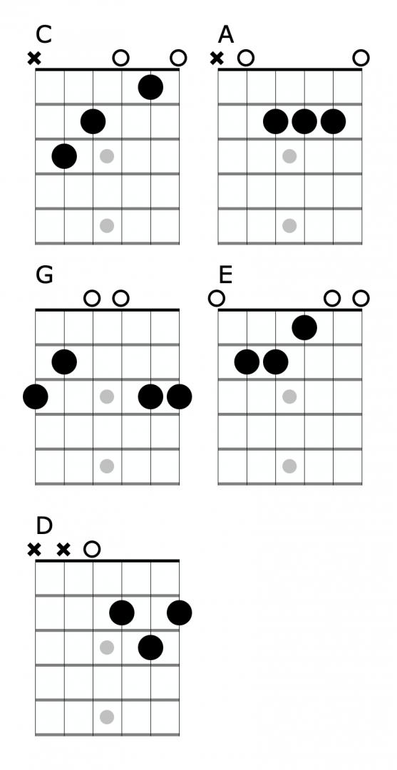 beginner open chords
